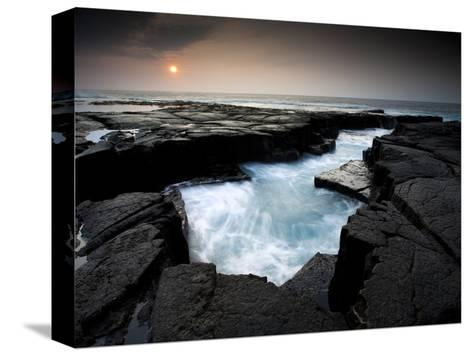Lava Patterns in Hawaii-Ian Shive-Stretched Canvas Print