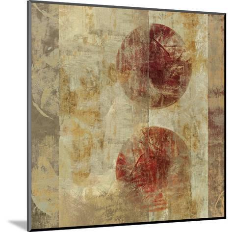 Caribbean Sunrise Square III-Roque Silva-Mounted Premium Giclee Print