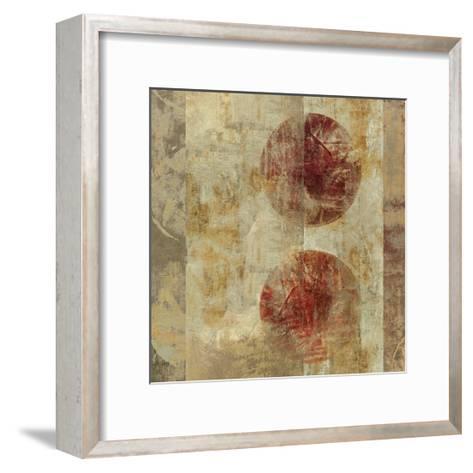 Caribbean Sunrise Square III-Roque Silva-Framed Art Print