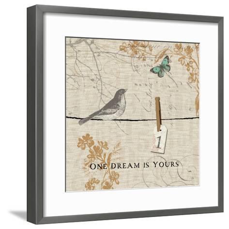 Words that Count I-Pela Design-Framed Art Print