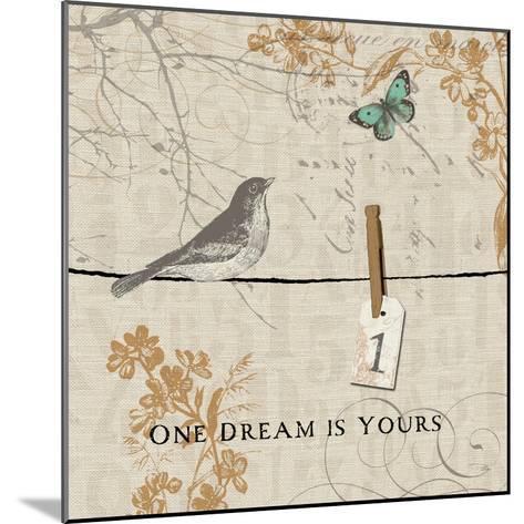 Words that Count I-Pela Design-Mounted Premium Giclee Print