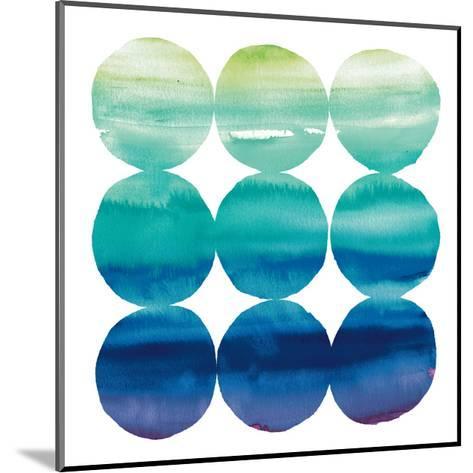 Summer Dots III-Elyse DeNeige-Mounted Art Print