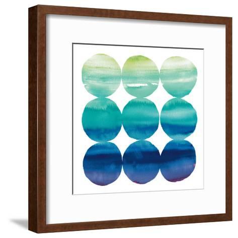 Summer Dots III-Elyse DeNeige-Framed Art Print