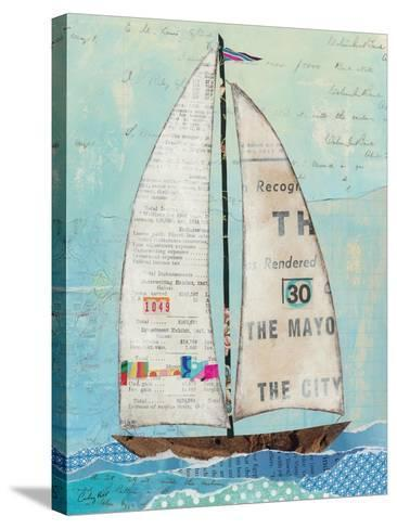 At the Regatta III-Courtney Prahl-Stretched Canvas Print