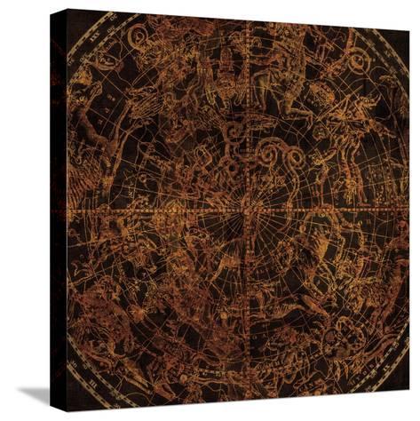 Northern Celestial Sphere Vintage-Hugo Wild-Stretched Canvas Print