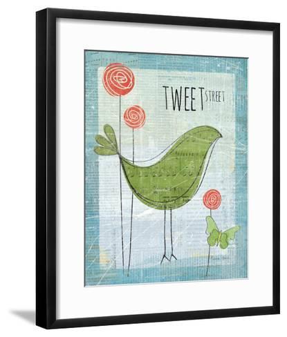 Tweet Street-Belinda Aldrich-Framed Art Print