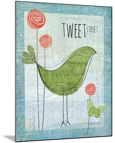 Tweet Street-Belinda Aldrich-Mounted Premium Giclee Print