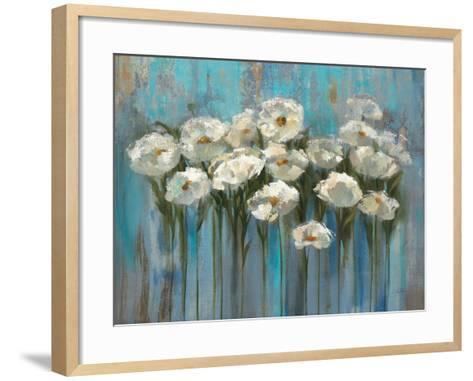 Anemones by the Lake-Silvia Vassileva-Framed Art Print