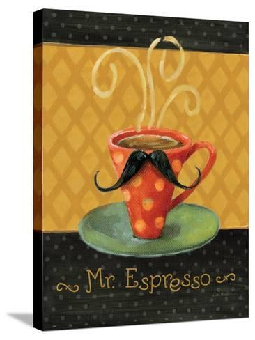 Cafe Moustache III-Lisa Audit-Stretched Canvas Print