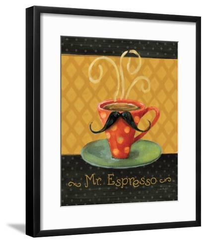 Cafe Moustache III-Lisa Audit-Framed Art Print