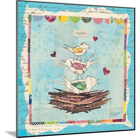 Family of Love Birds-Courtney Prahl-Mounted Premium Giclee Print