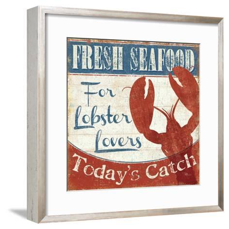 Fresh Seafood I-Pela Design-Framed Art Print