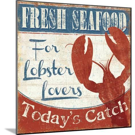 Fresh Seafood I-Pela Design-Mounted Premium Giclee Print