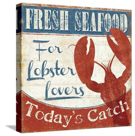 Fresh Seafood I-Pela Design-Stretched Canvas Print