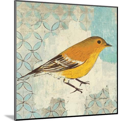 Pine Warbler-Kathrine Lovell-Mounted Art Print