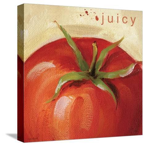 Juicy-Lisa Audit-Stretched Canvas Print