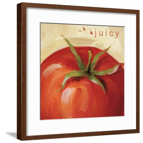 Juicy-Lisa Audit-Framed Art Print
