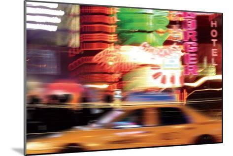 Taxi-Ben Richard-Mounted Art Print