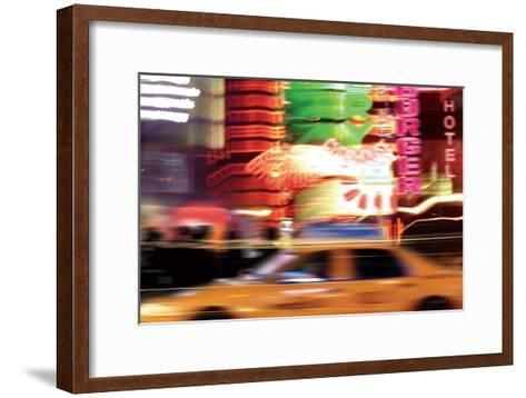 Taxi-Ben Richard-Framed Art Print