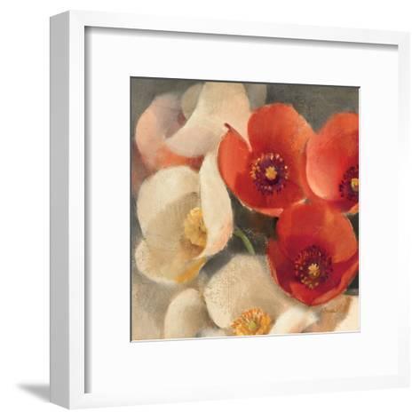 Poppies Bloom III-Albena Hristova-Framed Art Print