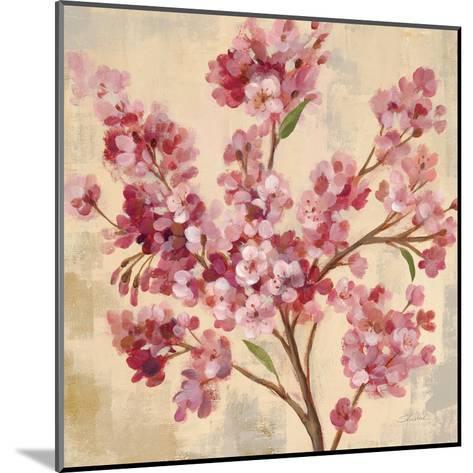 Pink Cherry Branch I--Mounted Art Print
