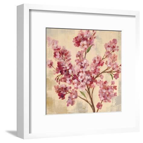 Pink Cherry Branch I--Framed Art Print