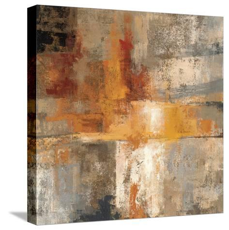 Silver and Amber Crop--Stretched Canvas Print