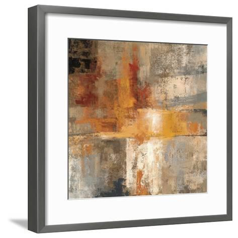 Silver and Amber Crop--Framed Art Print
