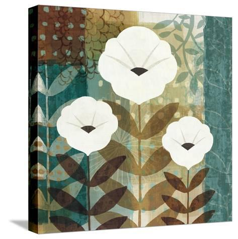 Floral Dream I Wag-Michael Mullan-Stretched Canvas Print