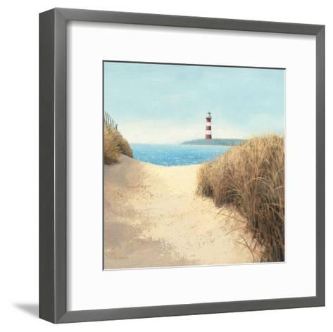 Beach Path Square-James Wiens-Framed Art Print
