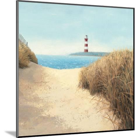Beach Path Square-James Wiens-Mounted Premium Giclee Print