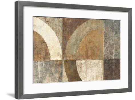 Circular Sculpture-Hugo Wild-Framed Art Print