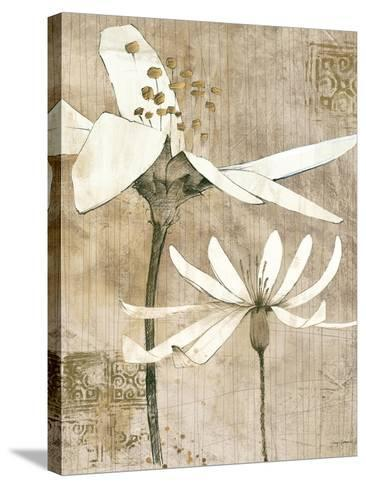 Pencil Floral II-Avery Tillmon-Stretched Canvas Print