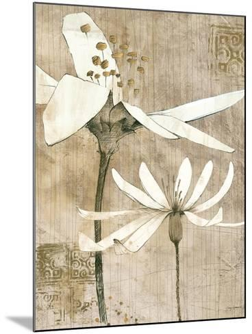 Pencil Floral II-Avery Tillmon-Mounted Premium Giclee Print