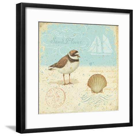 Natural Seashore I-Daphne Brissonnet-Framed Art Print