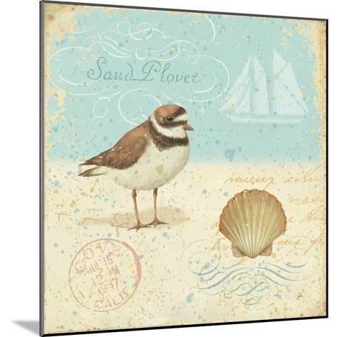 Natural Seashore I-Daphne Brissonnet-Mounted Premium Giclee Print