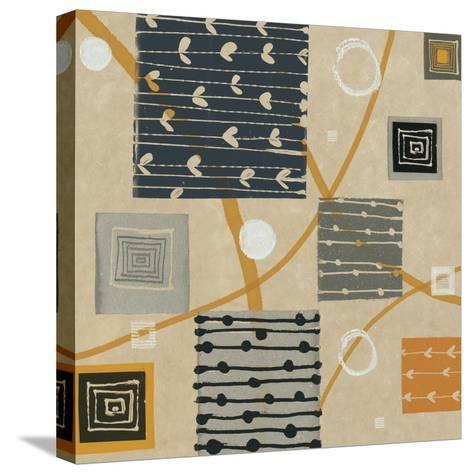 Graphic Tiles I-Hugo Wild-Stretched Canvas Print