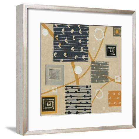 Graphic Tiles I-Hugo Wild-Framed Art Print