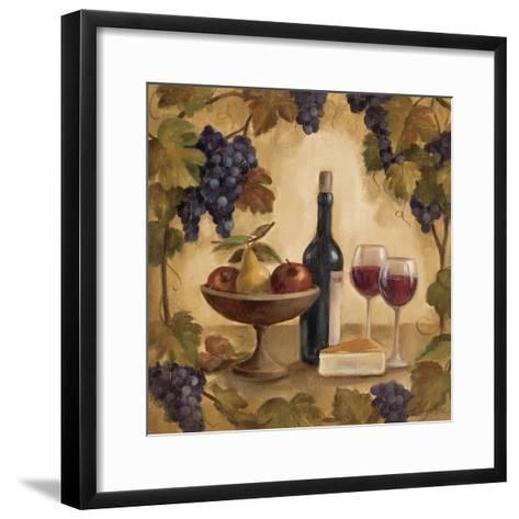 Wine and Cheese I-Silvia Vassileva-Framed Art Print
