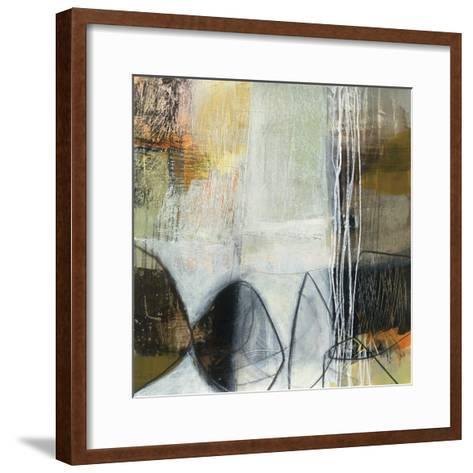 Abstract Pebble I-Davies Jane-Framed Art Print
