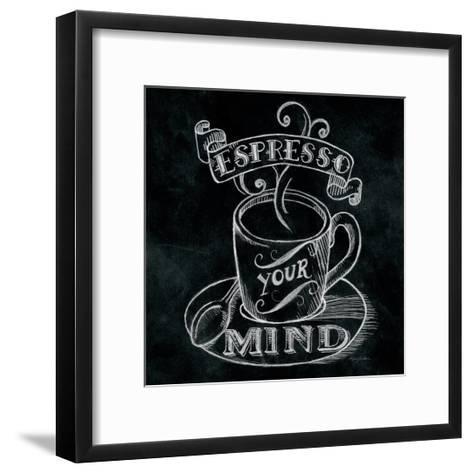 Espresso Your Mind Square-Mary Urban-Framed Art Print