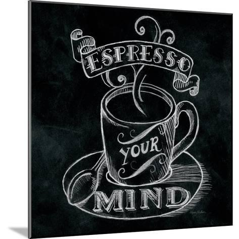 Espresso Your Mind Square-Mary Urban-Mounted Art Print
