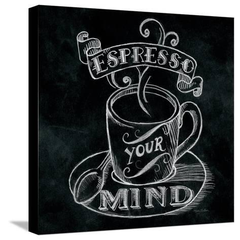Espresso Your Mind Square-Mary Urban-Stretched Canvas Print