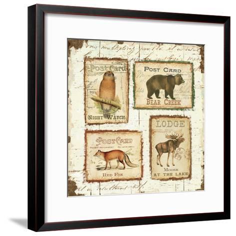 Lodge Memories II-Pela Design-Framed Art Print