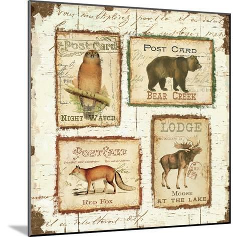 Lodge Memories II-Pela Design-Mounted Premium Giclee Print