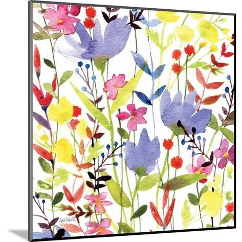 Annes Flowers Crop I-Anne Tavoletti-Mounted Art Print