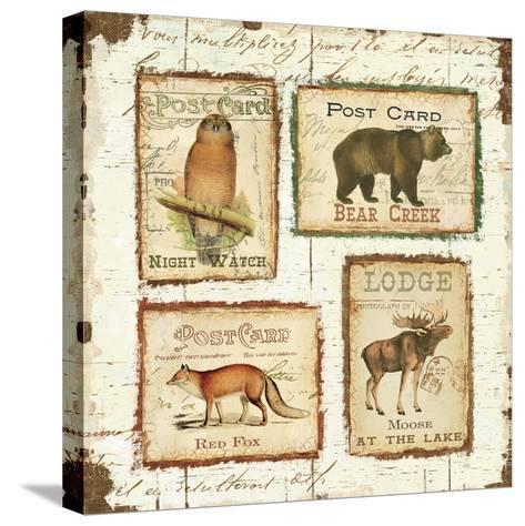 Lodge Memories II-Pela Design-Stretched Canvas Print