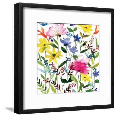 Annes Flowers Crop II-Anne Tavoletti-Framed Art Print