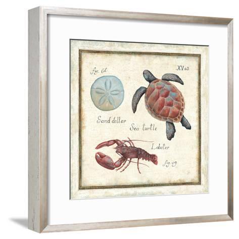 Oceanography II-Daphne Brissonnet-Framed Art Print