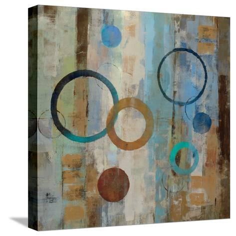 Bubble Graffiti II-Silvia Vassileva-Stretched Canvas Print